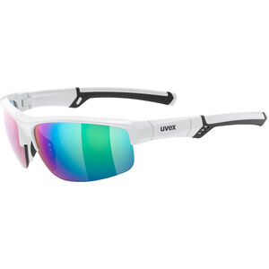 UVEX Sportstyle 226 Sportbrille white/mirror green white/mirror green