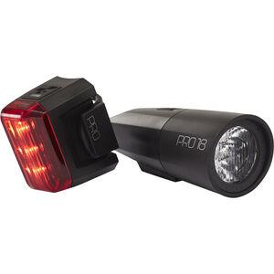 Cube Pro 18 Beleuchtungsset schwarz schwarz