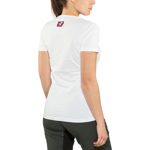 Cube Logo T-Shirt Damen white