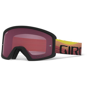 Giro Blok MTB Goggles orange/black heatwave, vivid trail/clear orange/black heatwave, vivid trail/clear