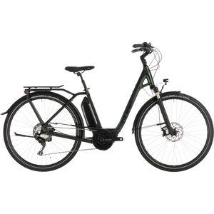 Cube Town Sport Hybrid EXC 500 Easy Entry Green'n'Black bei fahrrad.de Online