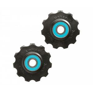 Tacx Ceramic Jockey Wheels 11 Zähne black/blue black/blue