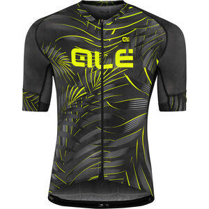 Alé Cycling Graphics PRR Sunset SS Jersey Herren black-yellow flou black-yellow flou
