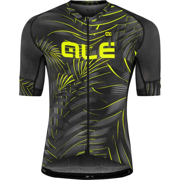Alé Cycling Graphics PRR Sunset SS Jersey Herren black-yellow flou