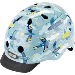 Nutcase Street Helmet Kinder feathered feathered