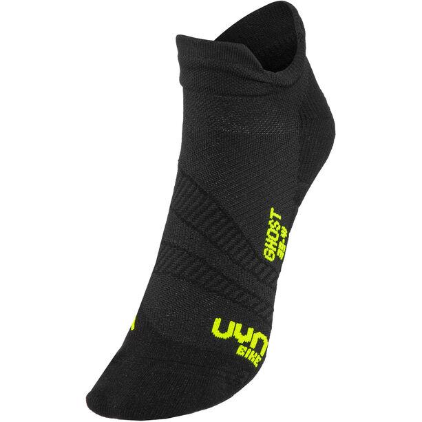 UYN Cycling Ghost Socks Herren black/yellow fluo