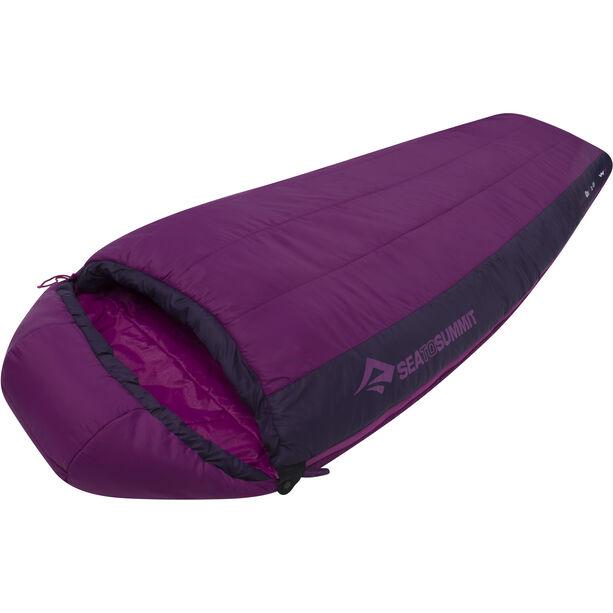 Sea to Summit Quest QuI Sleeping Bag regular Damen grape/blackberry