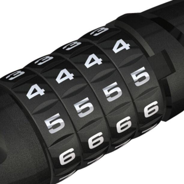 ABUS Steel-O-Flex Tresorflex 6615C BK SCMU Kabelschloss schwarz