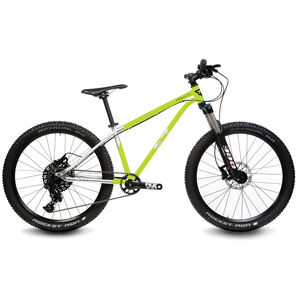 "Early Rider Hellion Trail 24"" Kinderrad brushed aluminum/lime bei fahrrad.de Online"