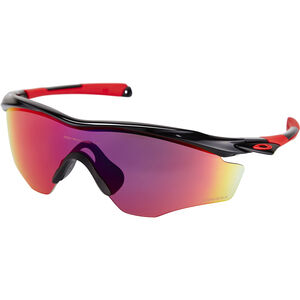 Oakley M2 Frame XL Sonnenbrille polished black/prizm road polished black/prizm road