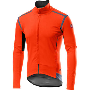 Castelli Perfetto Rain Or Shine Wandelbare Jacke Herren orange