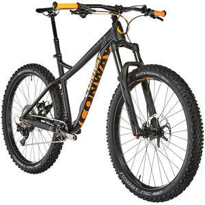 Conway MT 927 Plus Herren black matt/orange bei fahrrad.de Online