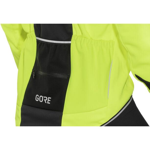 GORE WEAR C5 Windstopper Thermo Jacket Herren neon yellow/black