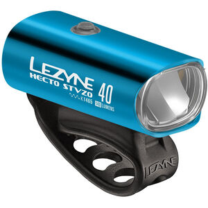 Lezyne Hecto Drive 40 Frontlicht StVZO Y11 blau-glänzend/weiß blau-glänzend/weiß