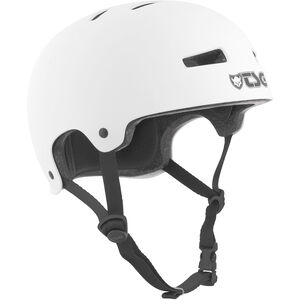 TSG Evolution Solid Color Helmet satin white satin white