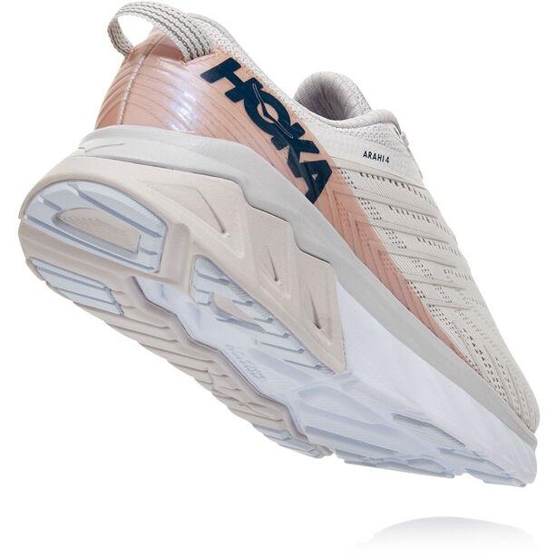 Hoka One One Arahi 4 Schuhe Damen nimbus cloud/lunar rock