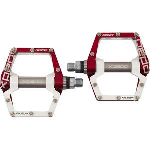 Xpedo XMX18AC Pedale rot/weiß rot/weiß