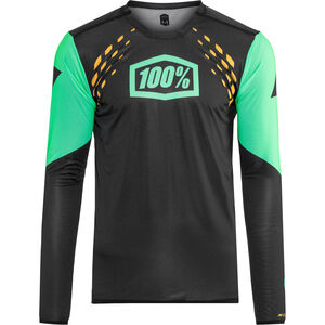 100% R-Core-X DH Jersey Herren black/cyan black/cyan