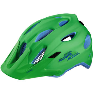 Alpina Carapax Jr. Helmet green-blue