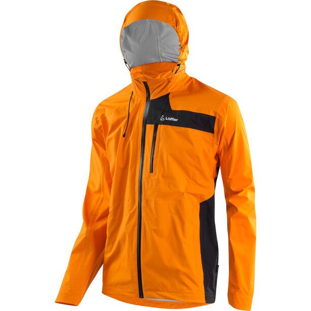 Löffler Classic WPM-3 Jacke mit Kapuze Herren orange