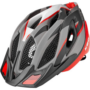 KED Spiri Two Helmet red black matt red black matt