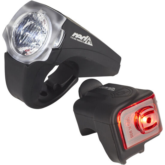Red Cycling Products PRO 25 Lux Urban LED Beleuchtungsset bei fahrrad.de Online