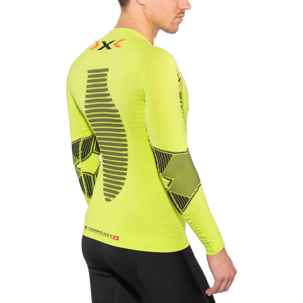 X-Bionic Running Effektor Power OW LS Shirt Herren green lime/black