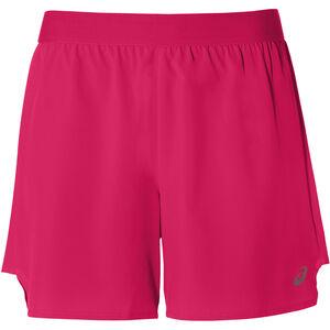 """asics 2-N-1 5"""" Shorts Damen laser pink/performance black laser pink/performance black"""