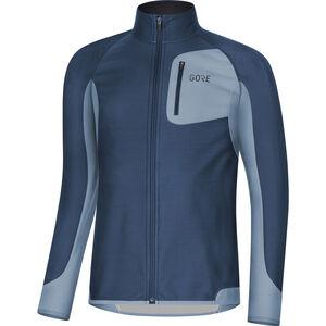GORE WEAR R3 Partial Gore Windstopper Shirt Herren deep water blue/cloudy blue deep water blue/cloudy blue