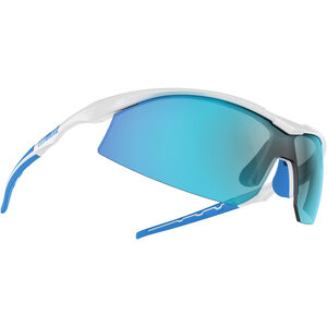 Bliz Prime M9 Brille shiny white/smoke with blue multi shiny white/smoke with blue multi