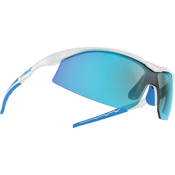 Bliz Prime M9 Brille shiny white/smoke with blue multi