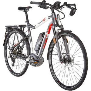 HAIBIKE XDURO Trekking S 9.0 Titan/Weiß/Rot bei fahrrad.de Online