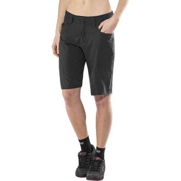 SQUARE Active Baggy Shorts Damen black
