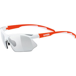 UVEX Sportstyle 802 V Sportglasses white orange/smoke bei fahrrad.de Online