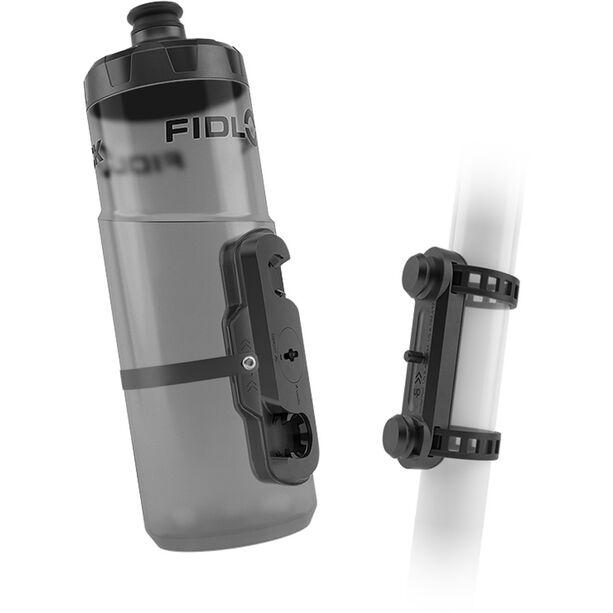 Fidlock Twist Trinkflasche 450ml inkl. Uni Base Mount clear black