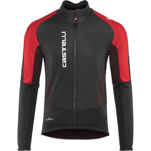 Castelli Mortirolo V Jacket Men black/red