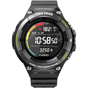 CASIO PRO TREK SMART WSD-F21HR-BKAGE Smartwatch Men black black