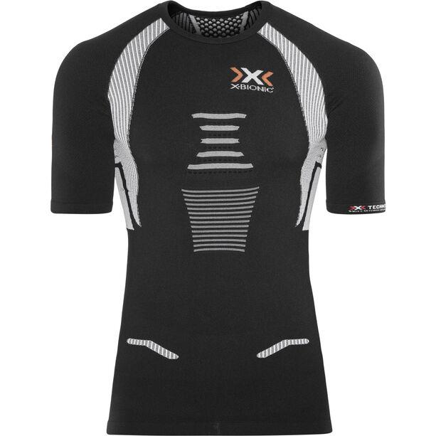 X-Bionic The Trick Running Shirt SS Herren black/white black/white