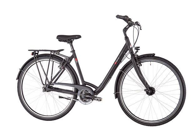 vsf fahrradmanufaktur T-50 Wave Nexus 7-fach RT V-Brake ebony matt