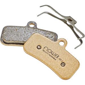 NOW8 E-Bike Gold Disc Brake Pads CC3Xplus for Shimano Saint/Zee gold gold
