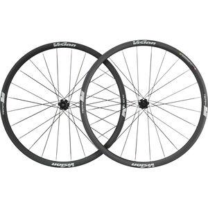 """FSA Vision Team 30 SL Disc Laufradsatz 28"""" Centerlock schwarz/grau schwarz/grau"""