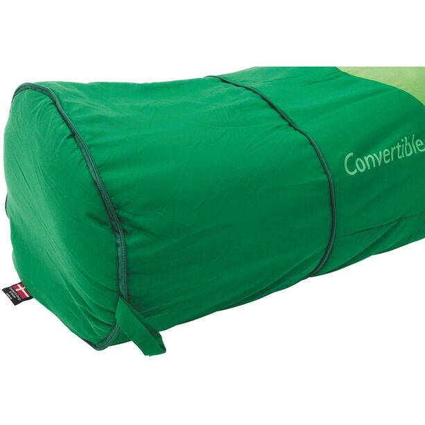 Outwell Convertible Junior Sleeping Bag Kinder green