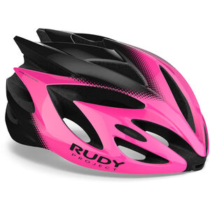 Rudy Project Rush Helmet pink fluo/black shiny pink fluo/black shiny