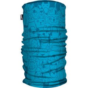 HAD Printed Fleece Tube Scarf Kinder pets blue pets blue