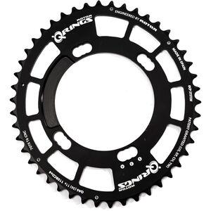 Rotor Q-Ring Road Kettenblatt 110mm 4-Arm innen38 Zähne schwarz schwarz