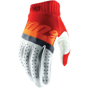 100% Ridefit FA18 Gloves red/fluo orange/slate blue red/fluo orange/slate blue