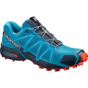 Salomon Speedcross 4 Shoes Herren fjord blue navy blazer cherry tomato fjord blue navy blazer cherry tomato