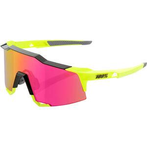 100% Speedcraft Mirror Glasses Tall polished black/fluo yellow polished black/fluo yellow