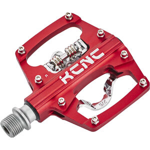 KCNC AM Trap Klickpedal Dual Side red red