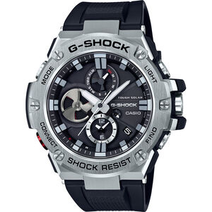 CASIO G-SHOCK GST-B100-1AER Watch Men black silver/white black black silver/white black